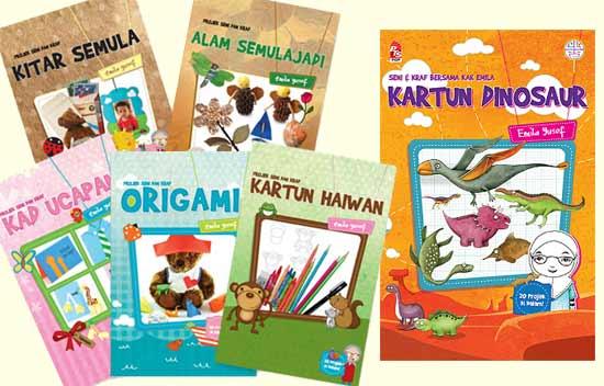 Malaysian children's craft book series by Emila Yusof (Buku Prima Karangkraf (Malaysia), 2014)