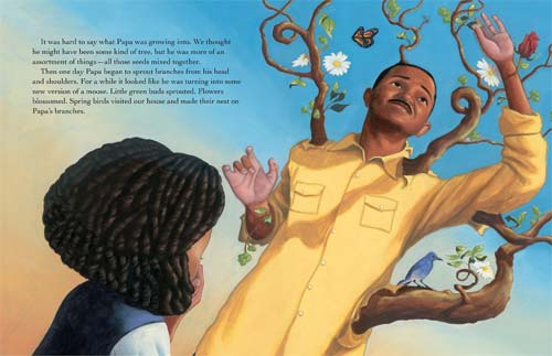 From 'Irene's Wish' written by Jerdine Nolen, illustrated by AG Ford (Paula Wiseman Books, Simon & Schuster, 2014)