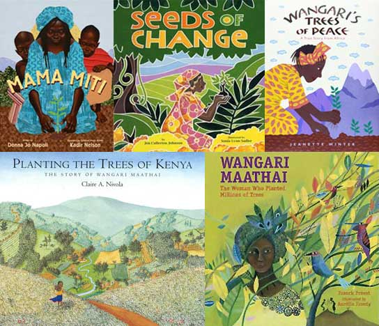 Picture Books about Wangari Maathai