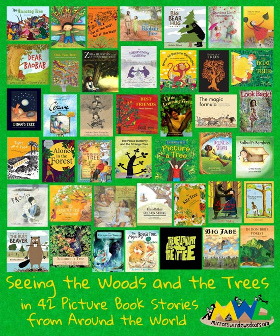 Mirrors Windows Doors reading list: Seeing the Wood and the Trees in 42 Picture Book Stories from Around the World