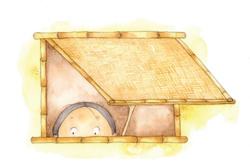 Illustration by Proiti Roy from Bulbuli's Bamboo, written by Mita Bordoloi (Tulika Books)
