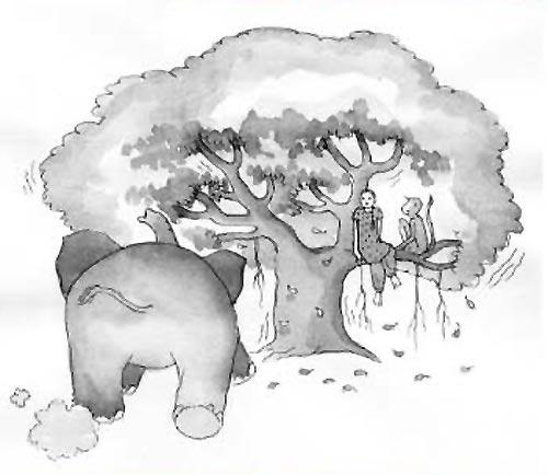 Illustration by Proiti Roy from 'Aditi Adventures', writtten by Suniti Namjoshi (Tulika Books, 2009)