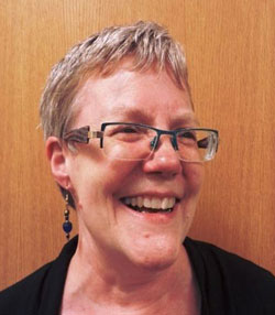 Leigh Turina, Lead Librarian for the IBBY Collection for Young People with Disabilities, held at Toronto Public Library