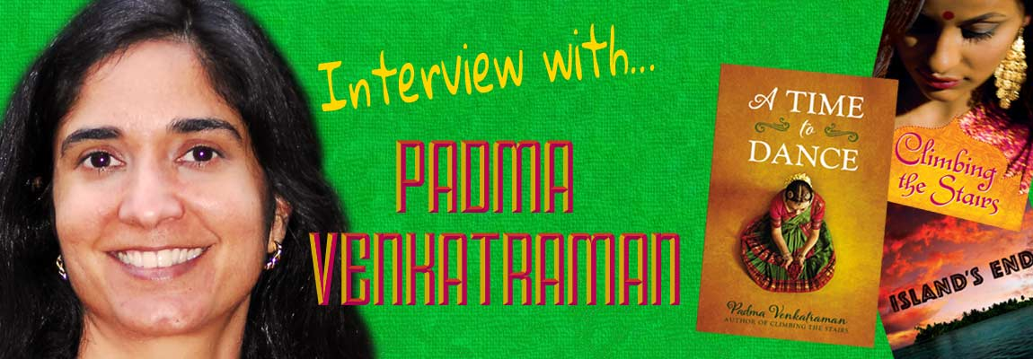 NWD interview with author Padma Venkatraman