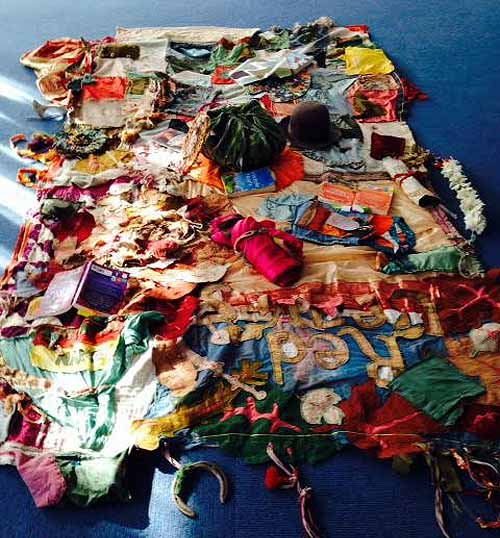 Author Sita Brahmacharis's amazing storytelling quilt