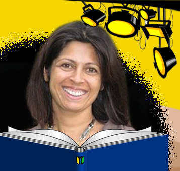 Author Sita Brahmachari in the MWD spotlight