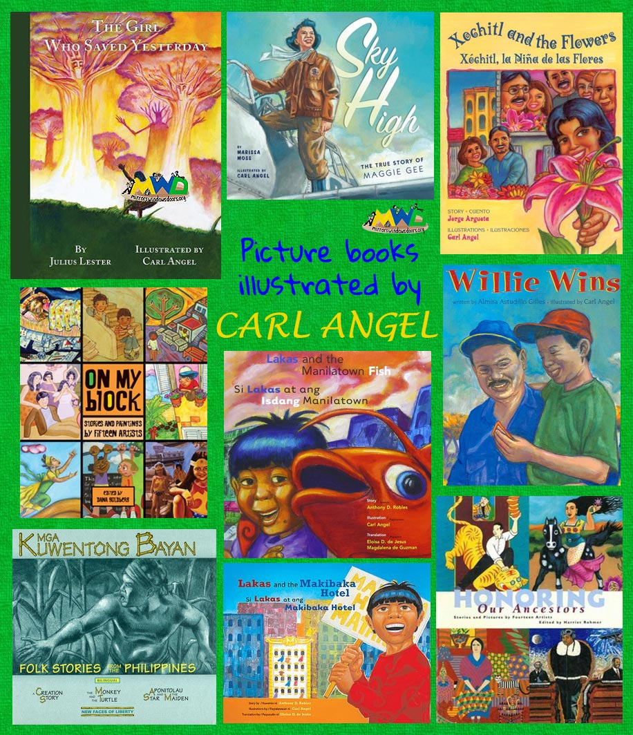 Picture books illustrated by Filipino American artist Carl Angel