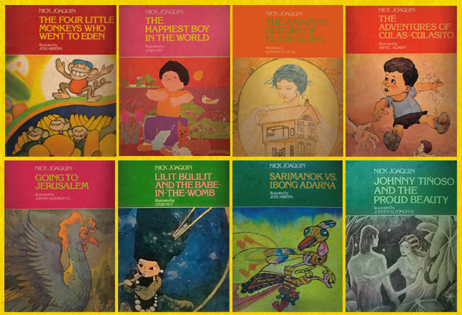 A selection of Nick Joaquin's series 'Stroies for Groovy Kids' (Philippines)