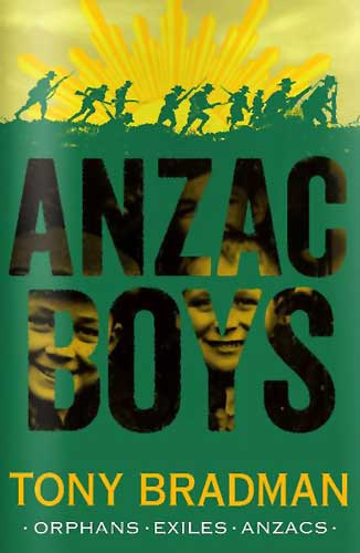 Anzac Boys by Tony Bradman, illustrated by Ollie Cuthbertson (Barrington Stoke, 2015)