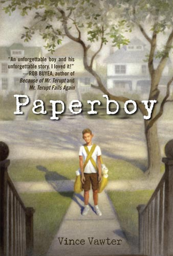 Paperboy by Vince Vawter (Delacorte Press, 2014)