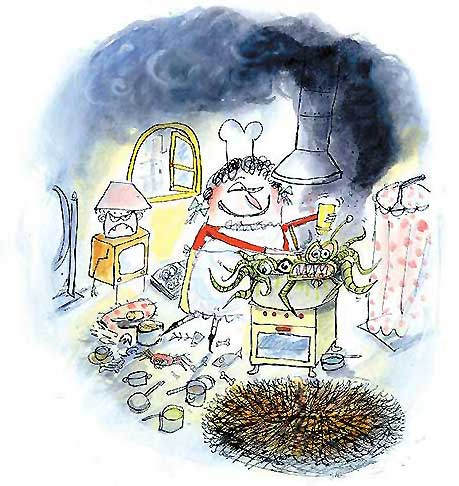 Horrible Harriet cooking - from the Harriet books by Leigh Hobbs
