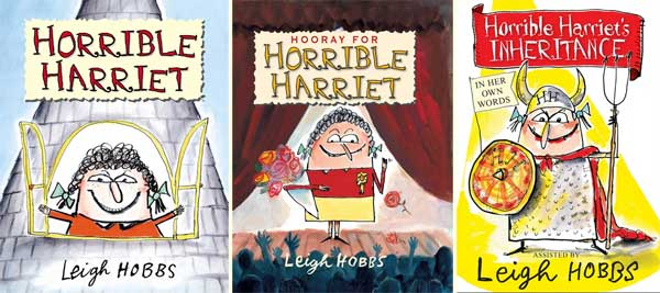 Horrible Harriet books by Leigh Hobbs