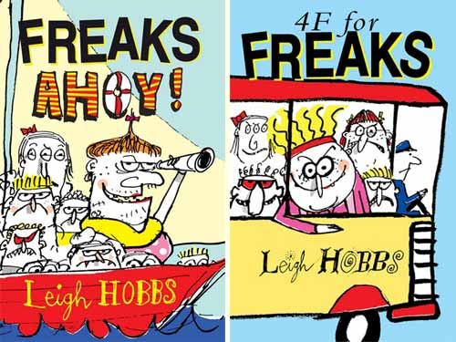 Freaks Ahoy!, and 4F for Freakss, by Leigh Hobbs (Allen & Unwin)