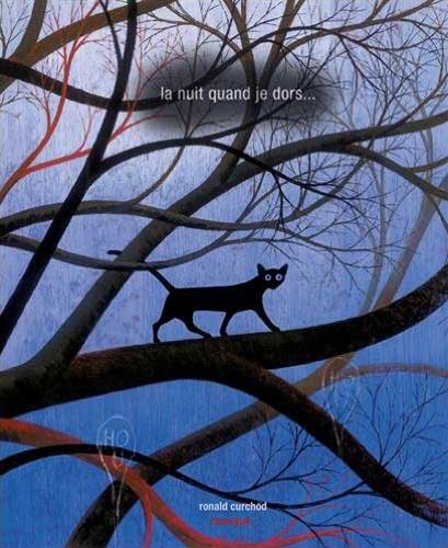 La nuit quand je dors ('The Night When I Sleep') by Ronald Curchod (Switzerland) - BIB Golden Apple 2015