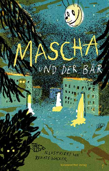 Mascha und der Bär ('Mascha And The Bear') by Renate Wacker (Germany) - BIB Plaque 2015