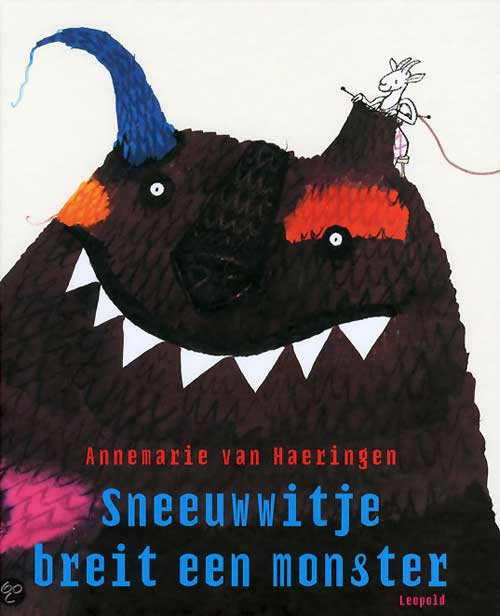 Sneeuwwitje breit een monster ('Snow White Knits a Monster') by Annemarie Van Haeringen (Netherlands) - BIB Plaque 2015
