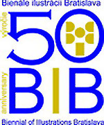 50 years of BIB - Biennial of illustrations Bratislava - logo