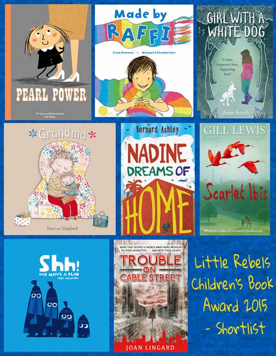 2015 Little Rebel Children's Book Award - shortlist