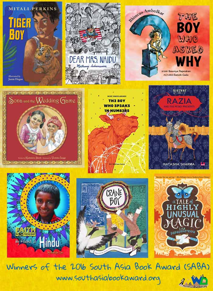 South Asian Book Award 2016 winners