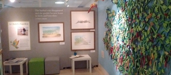 Painting With Rainbows - A Michael Foreman Exhibition at Seven Stories: A Child's Garden
