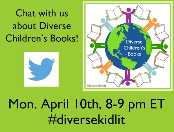 10 April 2017 - DiverseKidLit Twitter Chat
