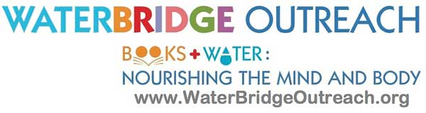 Logo: WaterBridge Outreach: Books + Water