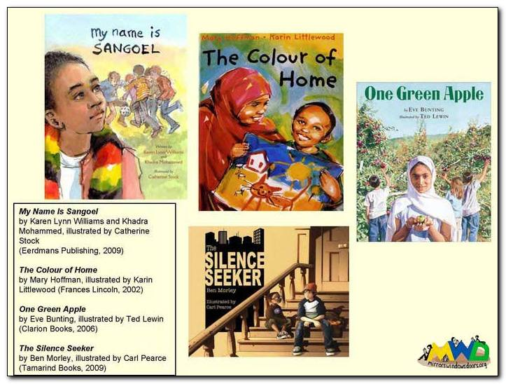 Stories Such As My Name Is Sangoel The Colour Of Home One Green Le And Silence Seeker Are All Good Books That Engender Empathy Highlight What